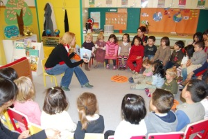 Reading at Childrens House